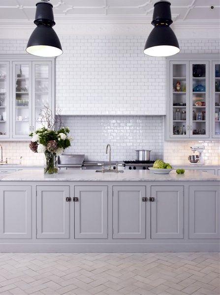 Greige design - gray kitchen