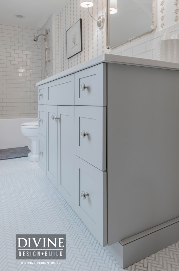 bathroom tile combinations