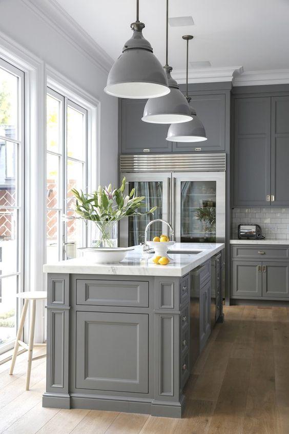 purodeco - gray kitchen design