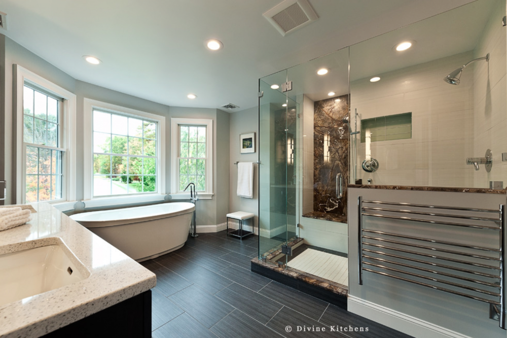 frameless shower door bathroom trends