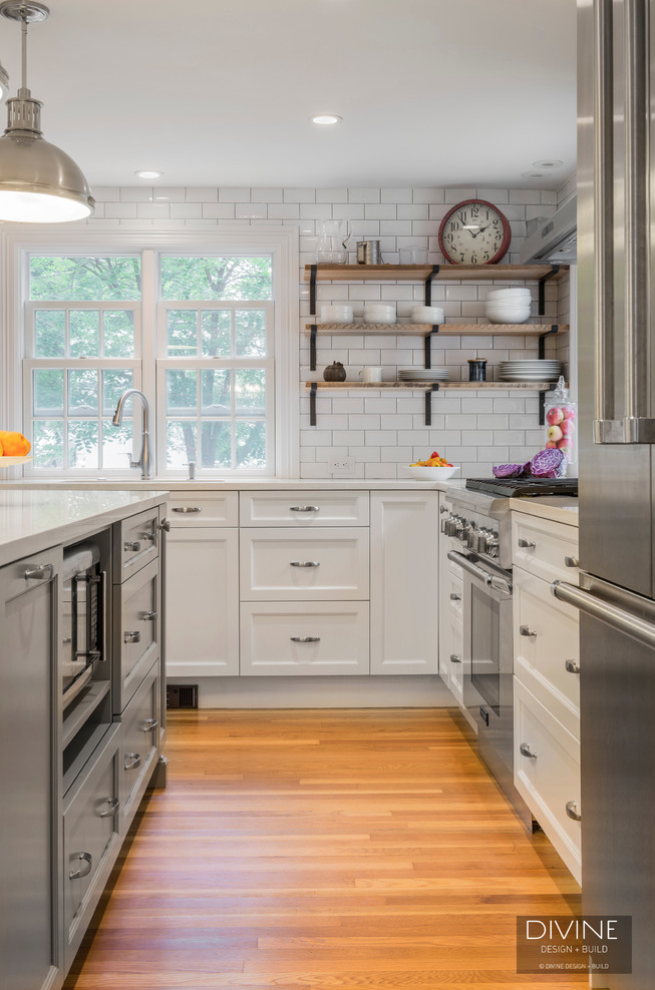 Transitional Kitchen Backsplash Ideas Divine Design Build