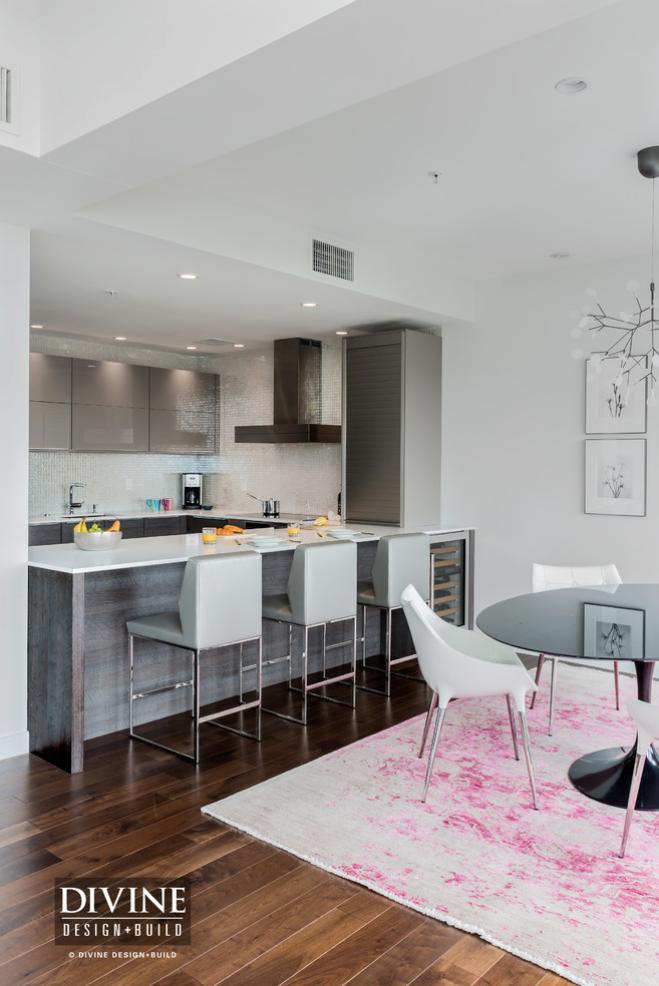gray-kitchen-pink-rug-charlestown-kitchen-remodel