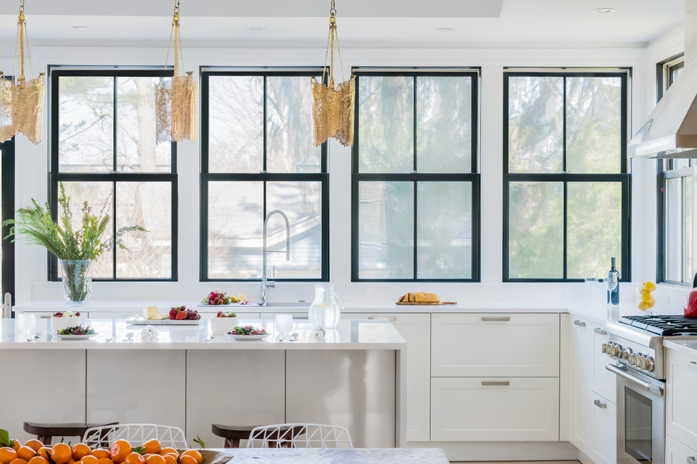 White Kitchen Design Houzz