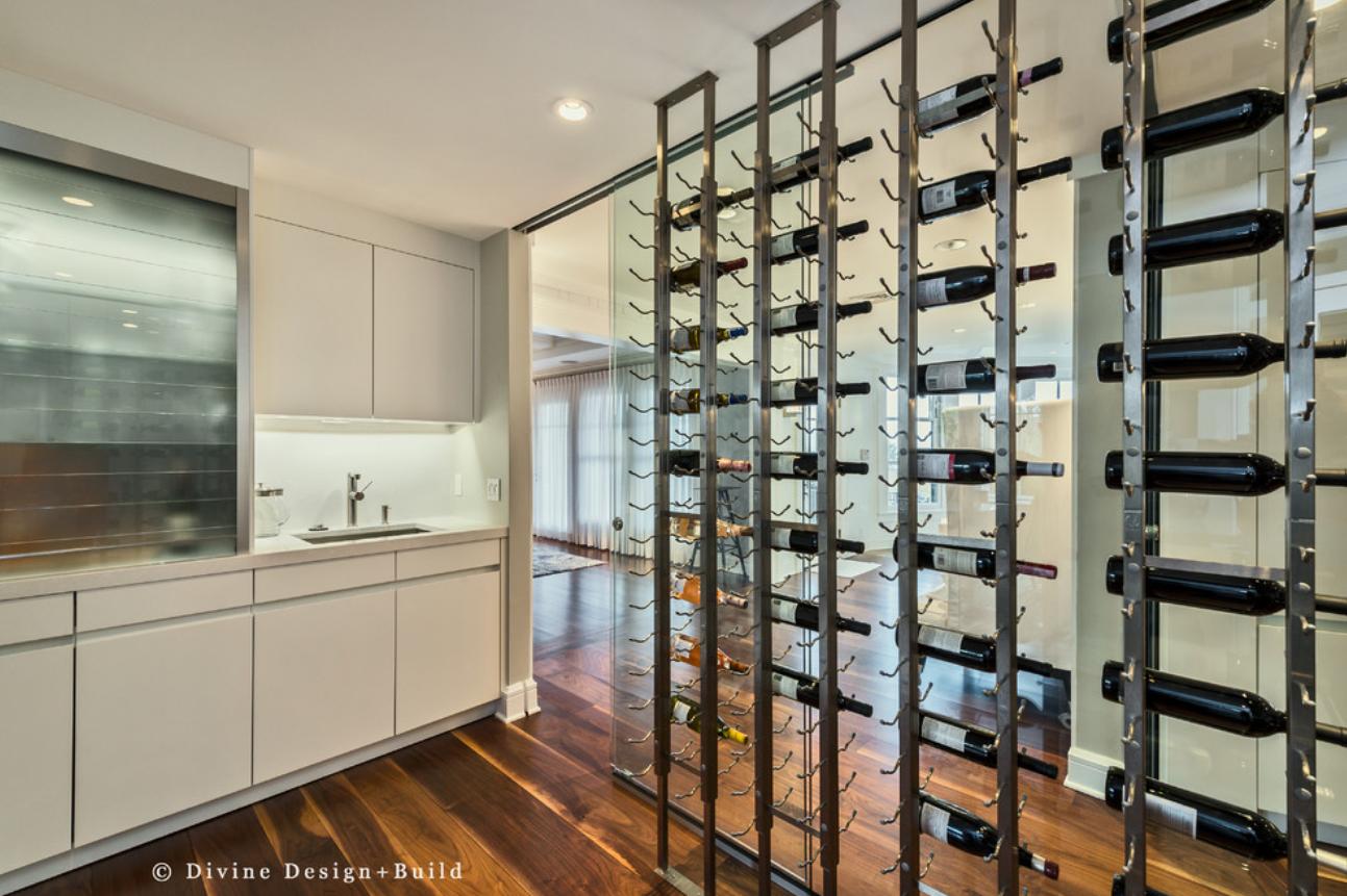 Wet Bar Design In The Kitchen Divine Design Build