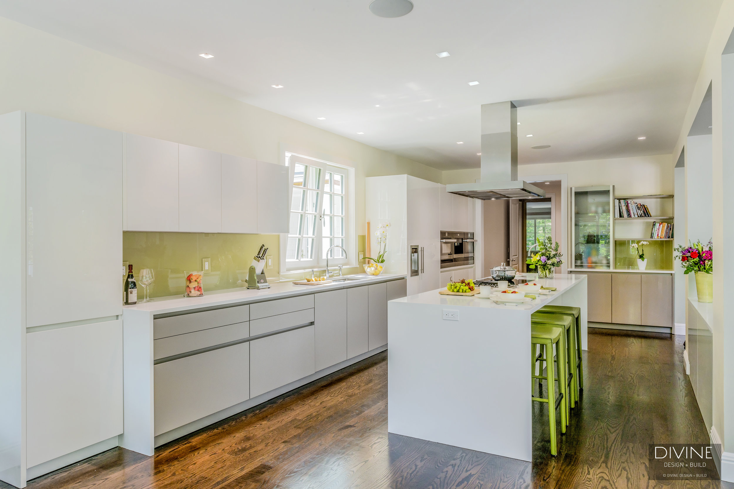Using Green in Kitchen or Bathroom Design — Divine Design+Build
