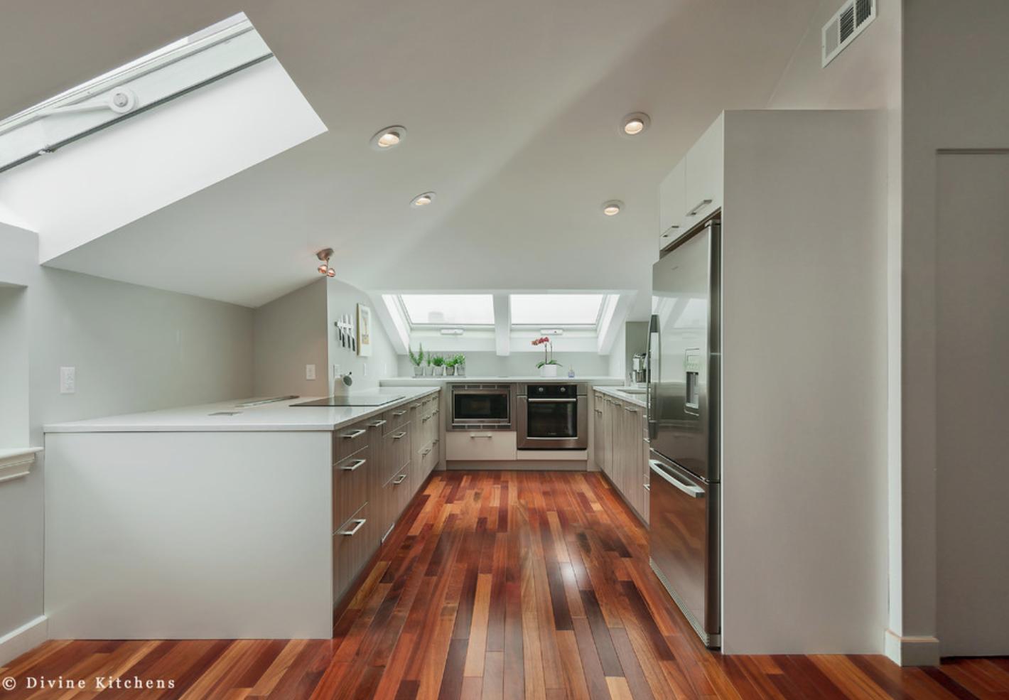Long Narrow Kitchen Design Divine Design Build