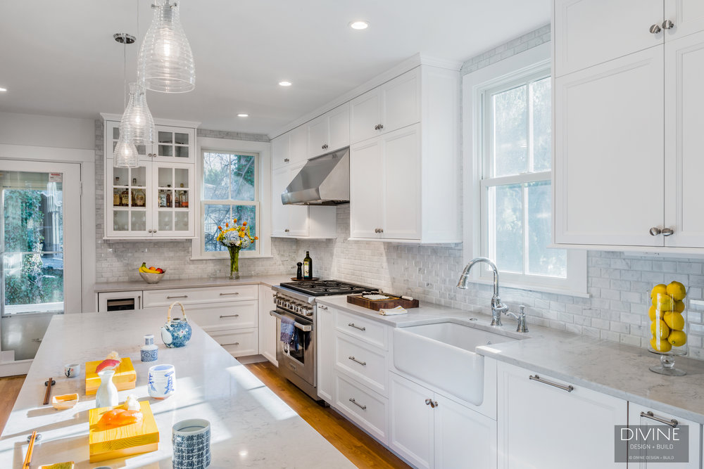 In house kitchen design newton ma