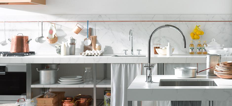 K_Tara modern kitchen faucet