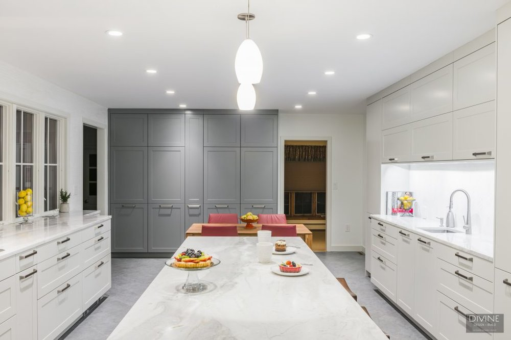 white kitchen design medfield, mass