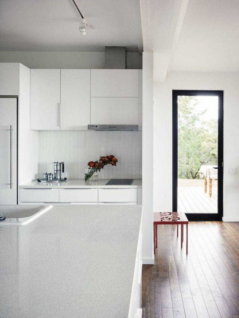 what is icestone - white kitchen