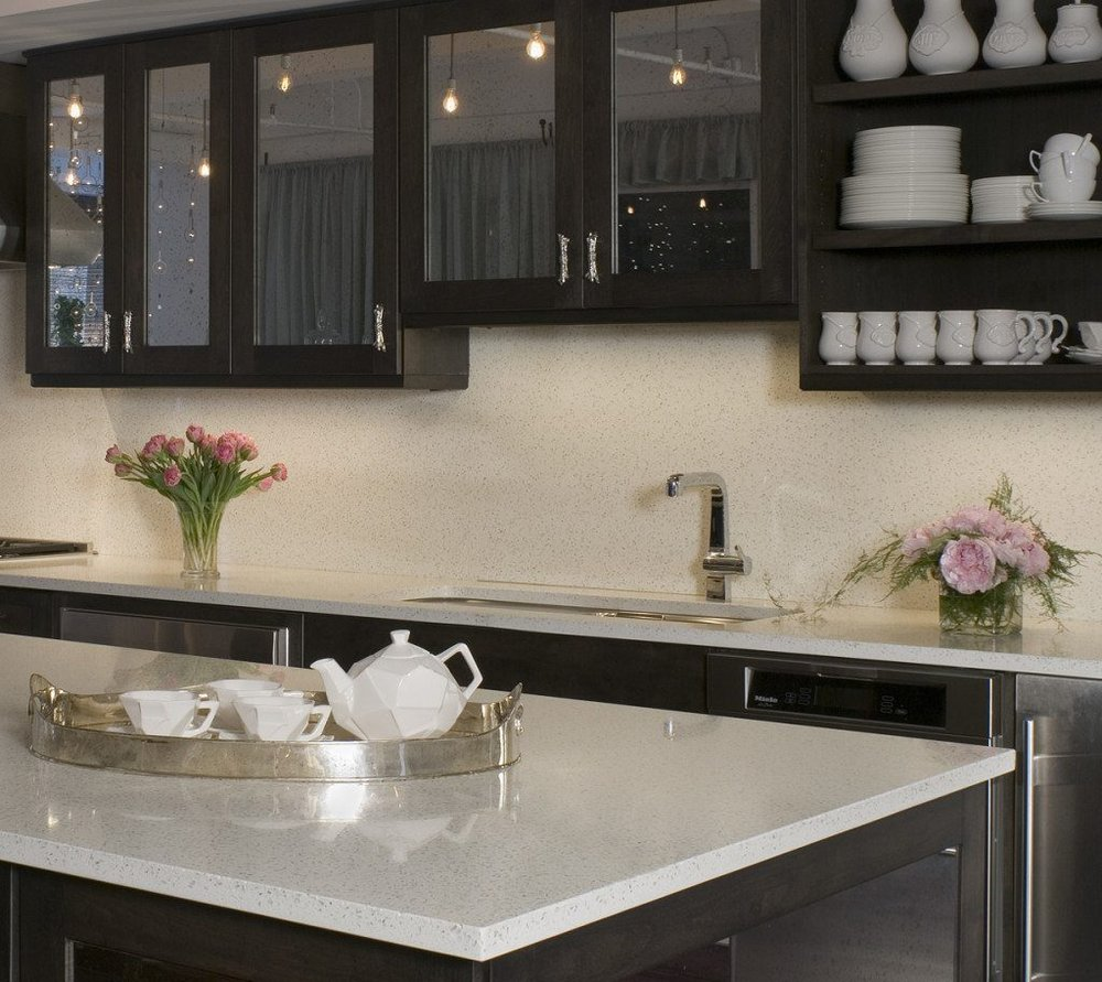 eco-friendly kitchen design - icestone