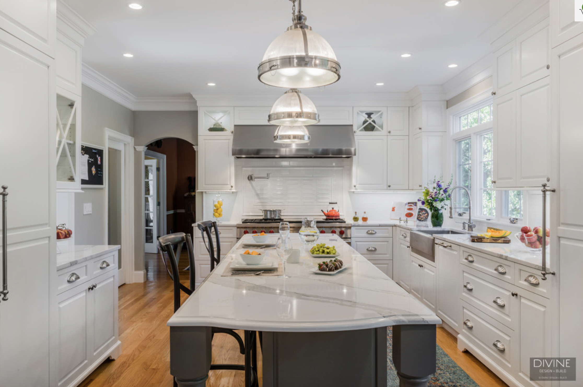 5 Gorgeous Transitional Kitchens in Boston — Divine Design+Build