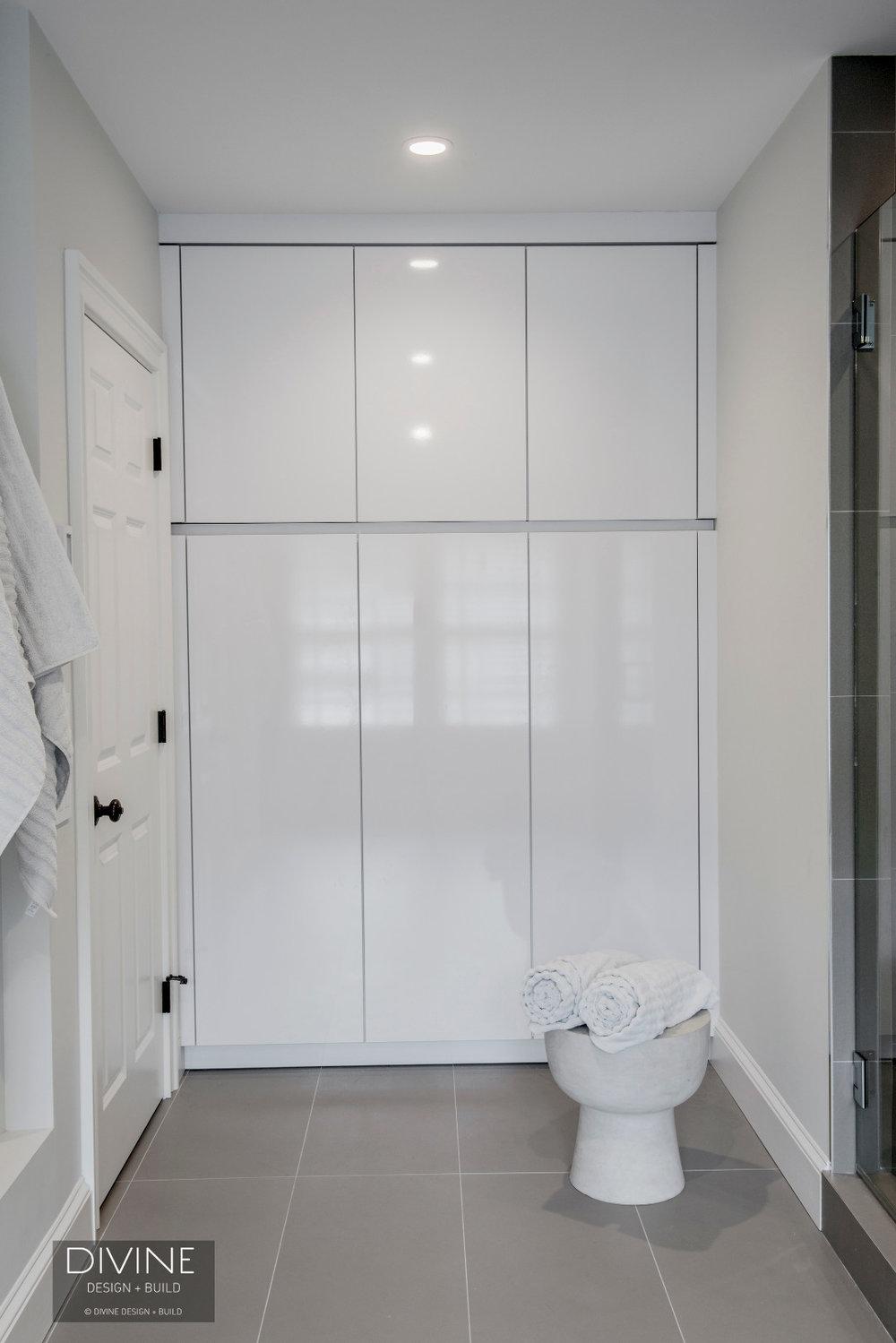 Boston Concord Contemporary Modern Leicht Master Bathroom Suite ...