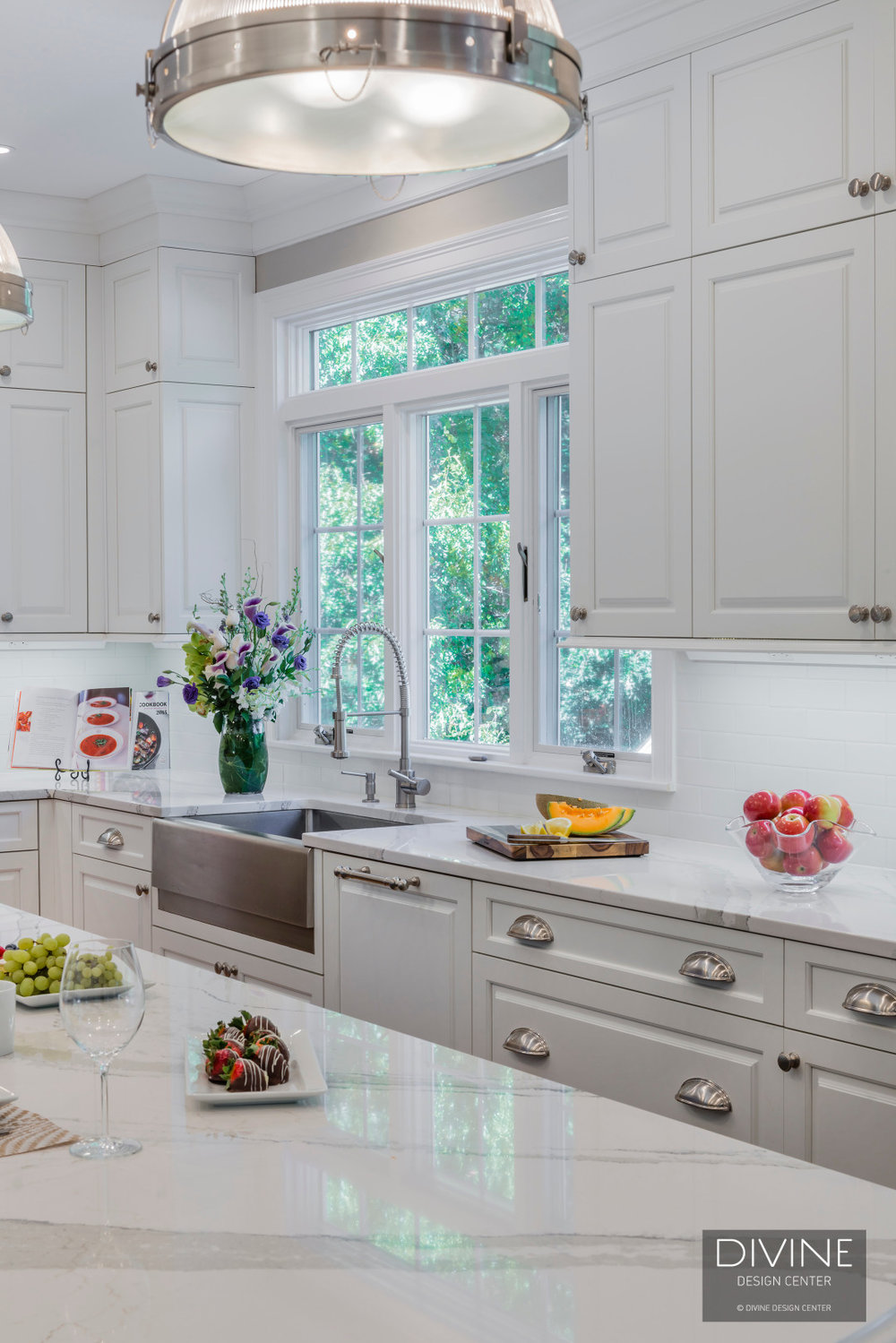 Boston Metrowest Traditional Kitchen Commercial Wolf Range — Divine ...