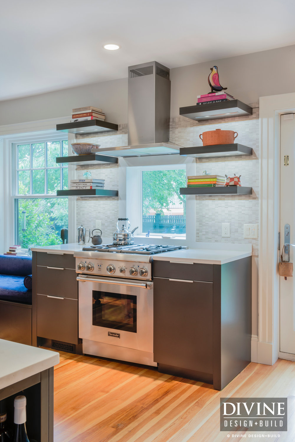 Boston Winchester Modern Transitional Eclectic Leicht Kitchen ...