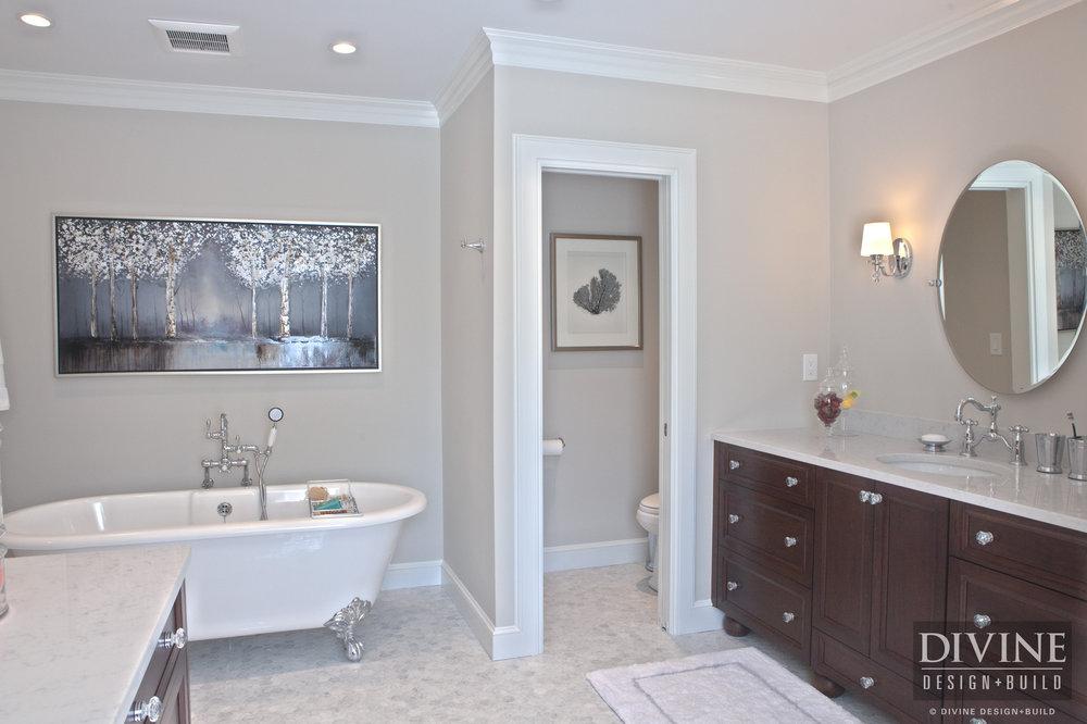 traditional master bathroom rustic traditional style bathroom with dark walnut vanity and glass knobs marble countertop shower boston brookline elegant master bathroom suite divine