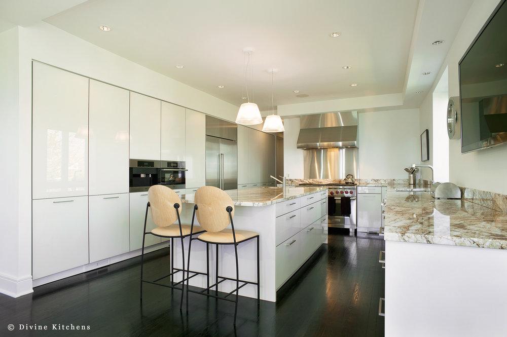 Boston Modern Contemporary Leicht Kitchen Marble