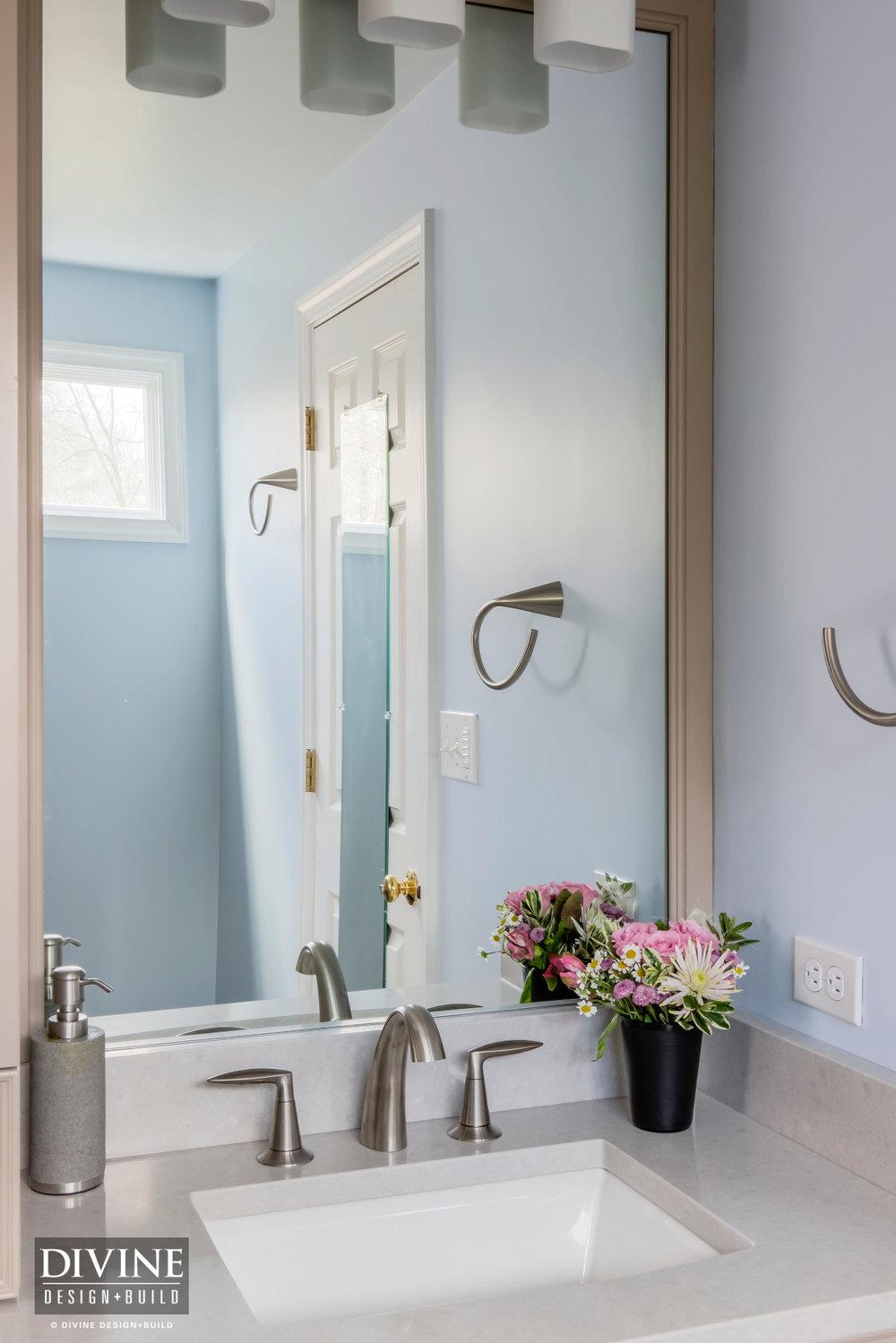 Boston Metrowest Transitional Master Bath Suite — Divine Design+Build