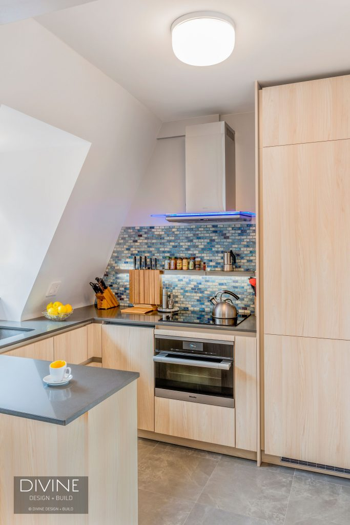 A Small and Stylish Kitchen Design in Charlestown, Mass ...