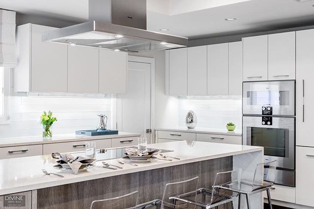Modern @leichtkuechen cabinets with cambria countertops and @gaggenauofficial appliances bring this #NewtonMA kitchen together.⠀ .⠀ .⠀ . #designblog #designer #designporn #designideas #decoration #decorating #moderndecor #homedecor #kitchendesign #kitchensboston #livingthedream #lifestyle #lifestyleblogger #bostondesigner #bostonblogger #interior #instahome #instacool #interiuer #interior123 #interioinspo #luxurylifestyle #luxuryblogger #luxurydesign #luxuryhomes #blackandwhite