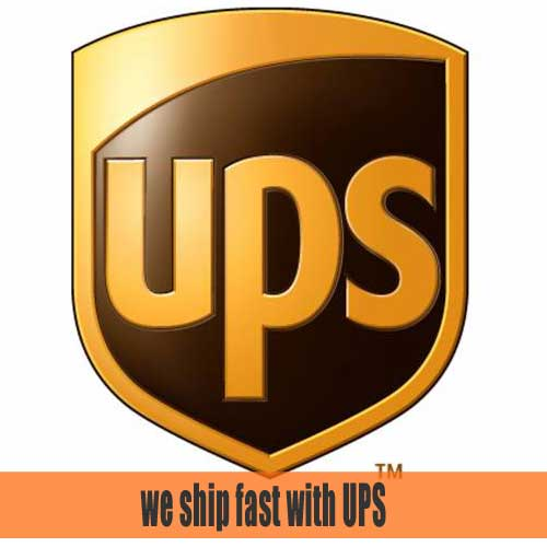 Most Orders Ship Same Day as Ordered   We ship most orders same day when ordered M-F before 3pm EST. We use UPS, FedEx and USPS.
