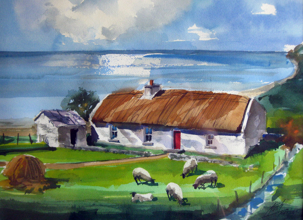 Koch, Robert- Shore Cottage-Roadford, County Clare, Ireland