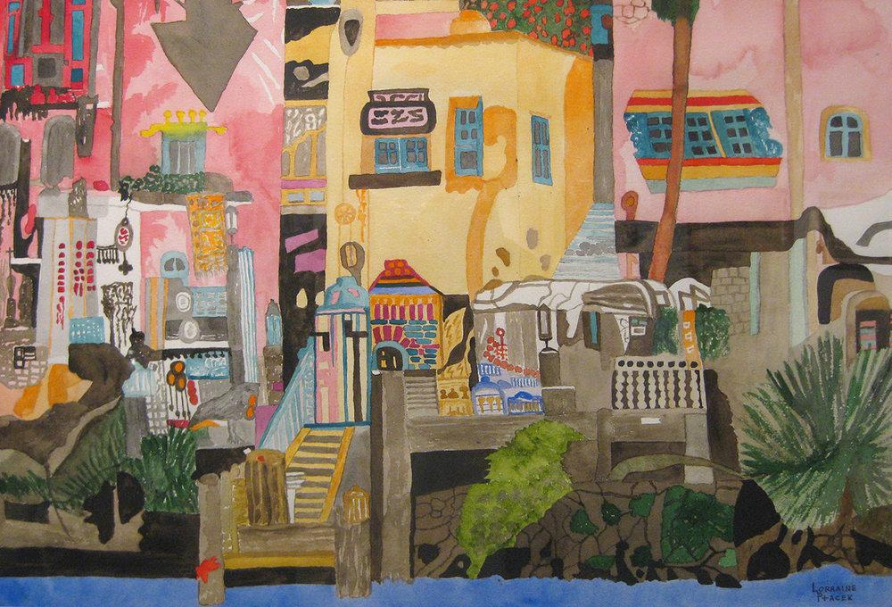 Ptacek, Lorraine - Hong Kong Harbor Bazaar II