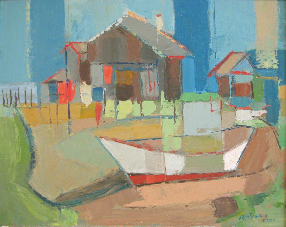Van Tempera, Helen - Boat Moderne