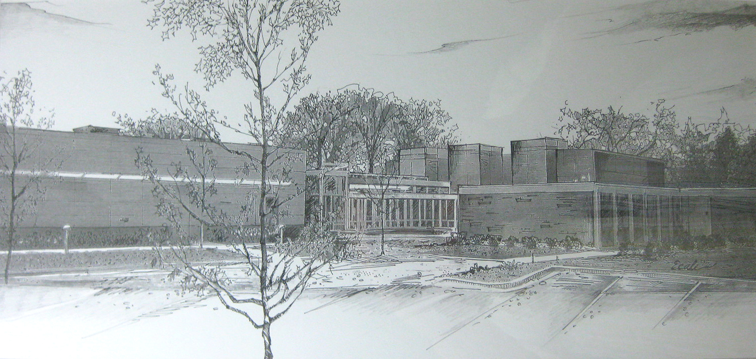 Elmhurst Art Museum, Evelyn Ecale Schultz, Ink, film, graphite on paper, 1997