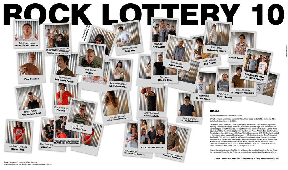 Rock Lottery 10 Program