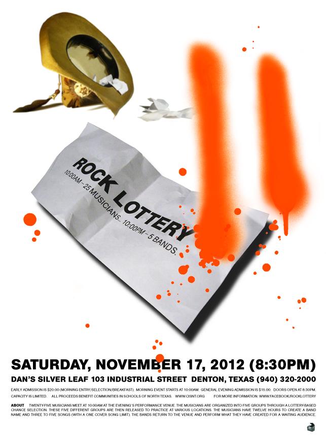 Rock Lottery 11 Flyer