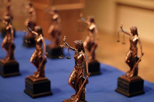 Models of Justice Statuettes