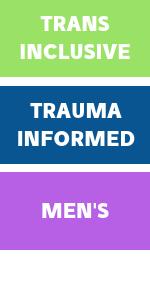 Trans inclusive, trauma informed, men's
