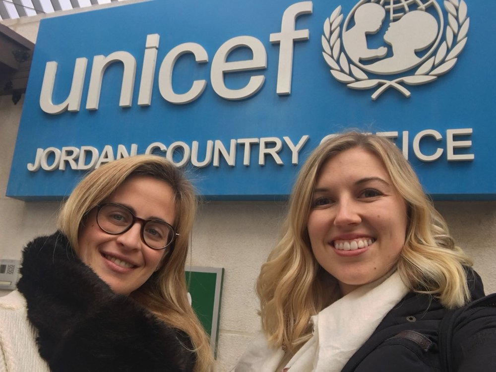 Gemma and Shanna visited Jordan twice to talk with stakeholders and learn about the education and livelihoods priorities for organizations working in the region. (2018)
