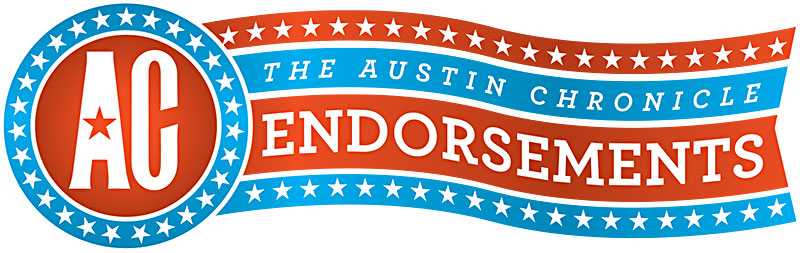 Endorsed by the Austin Chronicle