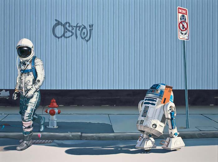 The Parking Ticket by Scott Listfield. Inspired by Star Wars.