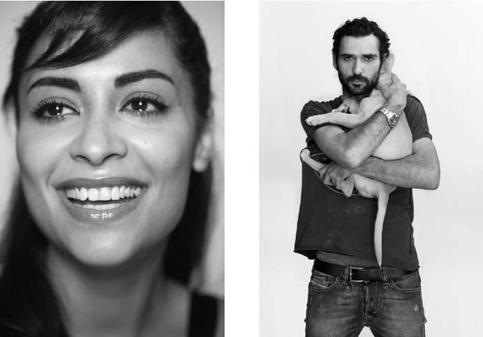 Yasmine Al Massri and Kais Nashif, Actors