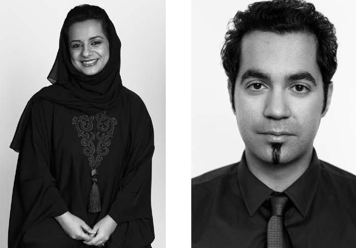 Nayla Al Khaja and Mahmoud Kaabour, Filmmakers