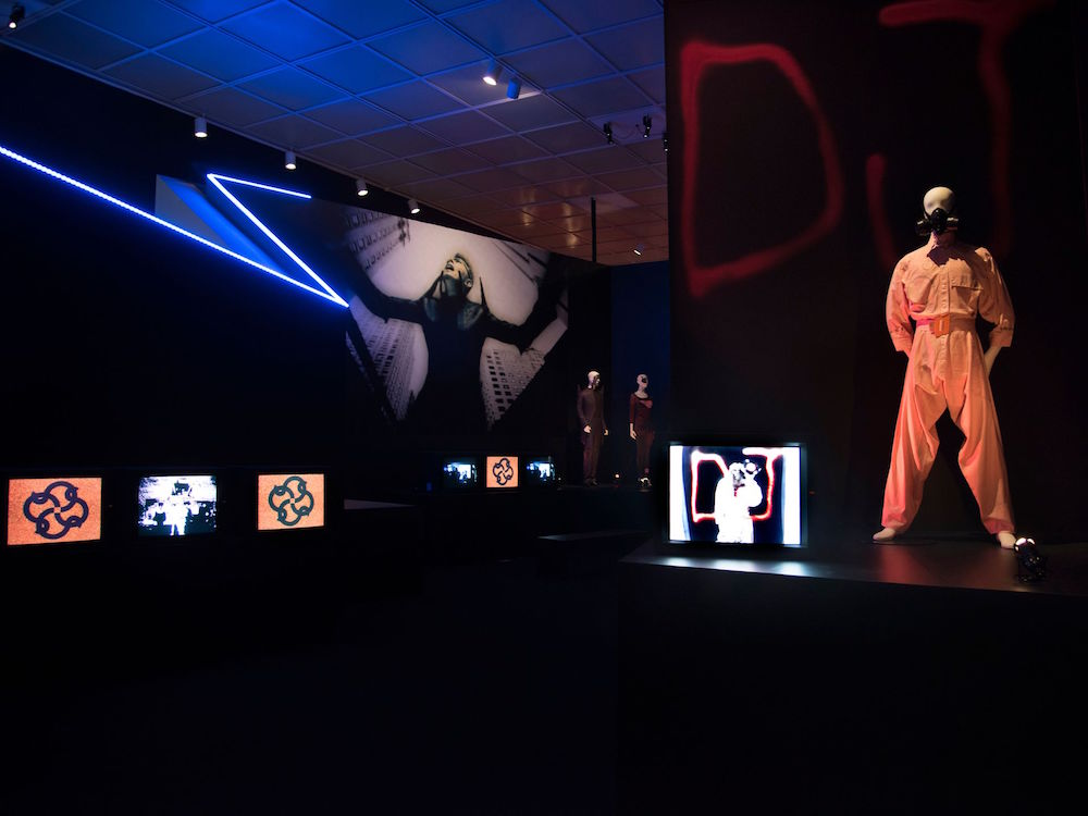 "Installation images of ""David Bowie is"" at the Brooklyn Museum. Courtesy of the Brooklyn Museum/Jonthan Dorado"