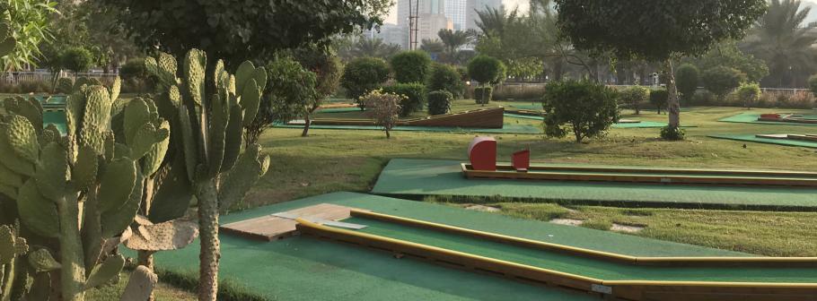 Mini Golf Park at Al Majaz Waterfront, Sharjah