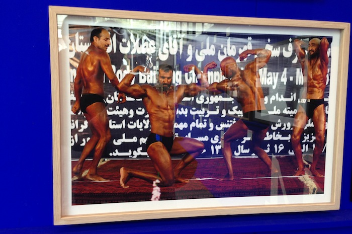 ardin Waezi - Men Competing in a Bodybuilding Competition for the Title of Mr. Afghanistan, Kabul, Afghanistan, 2010