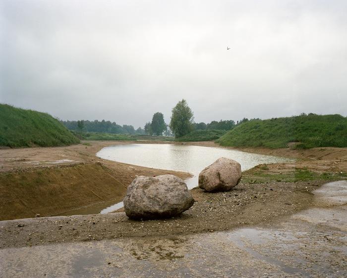 © Fouad Elkoury, Tartu ,lac, 2011, Chromogenic Print Diasec, 100 x 125 cm