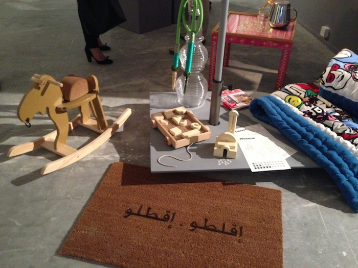 © Hind Mezaina - Deglobalizer at Design Days Dubai 2014
