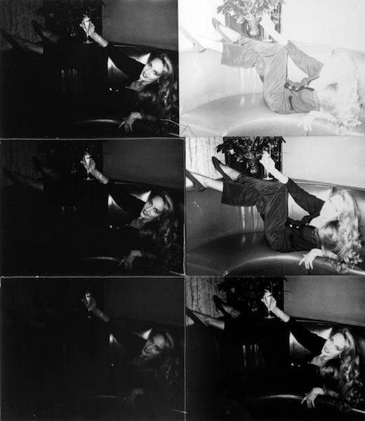 Andy Warhol, Jerry Hall 1976-1987, © 2014 The Andy Warhol Foundation for the Visual Arts, Inc. / Artists Rights Society (ARS), New York & DACS, London.
