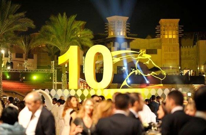 Opening night party of Dubai International Film Festival 2013