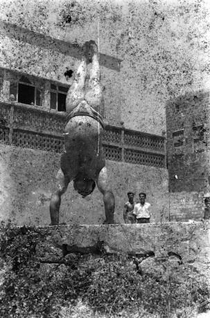 Akram Zaatari, Bodybuilders no. 8, 2011