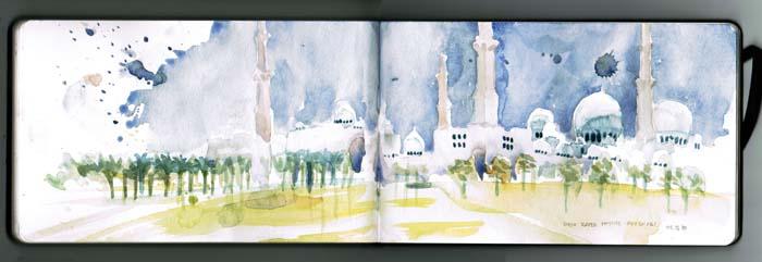 Abu Dhabi by Omar Jaramillo Traverso