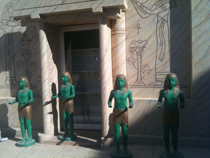 Ancient Egyptian Martians in Umm Al Quwain