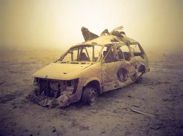 © Richard Mosse - Space Wagon Mosul (from The Fall series), 2009