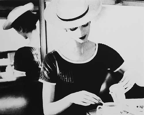 Lillian Bassman, Carmen Having Tea, c. 1950s (Estimate: $5,000 - 6,000, AED 18,000 - 22,000)